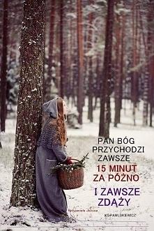 Wiatr wieje tam, gdzie chce, i szum jego słyszysz, lecz nie wiesz, skąd przychodzi i dokąd podąża. Tak jest z każdym, który narodził się z Ducha. ~ J 3, 8. :)