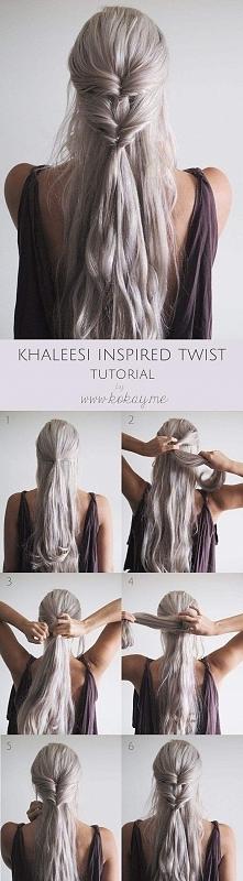 Fryzura Khalessi