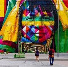 Rio 2016 Mural by Eduardo Kobra