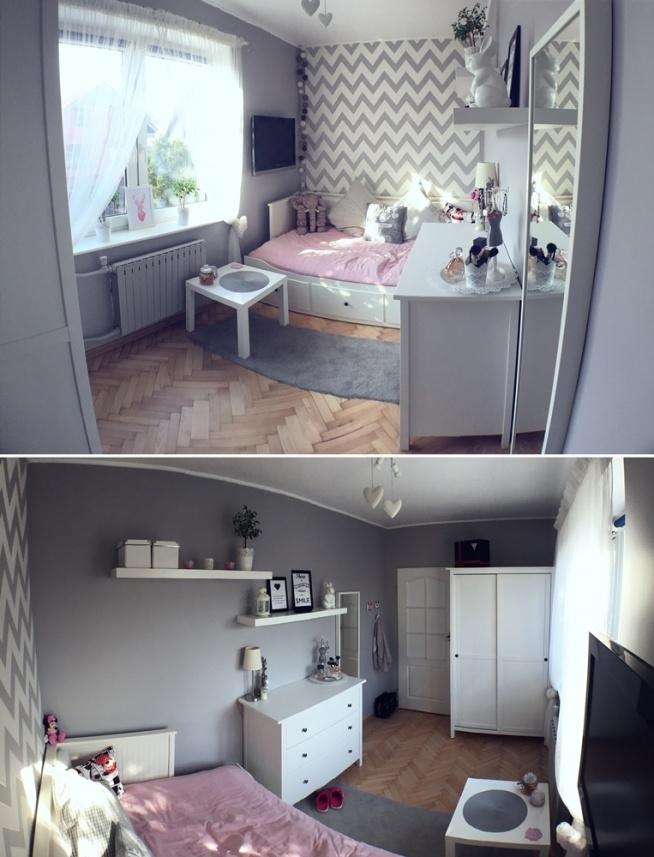 Mój nowy kąt <3 Zawsze lubiłam małe i przytulne pomieszczenia. Choć niektórym może się to wydać klitką dla mnie jest po prostu idealny. A wy jakie pomieszczenia lubicie? Może tutaj byście coś zmieniły? Czekam na wsze pomysły i propozycje :)
