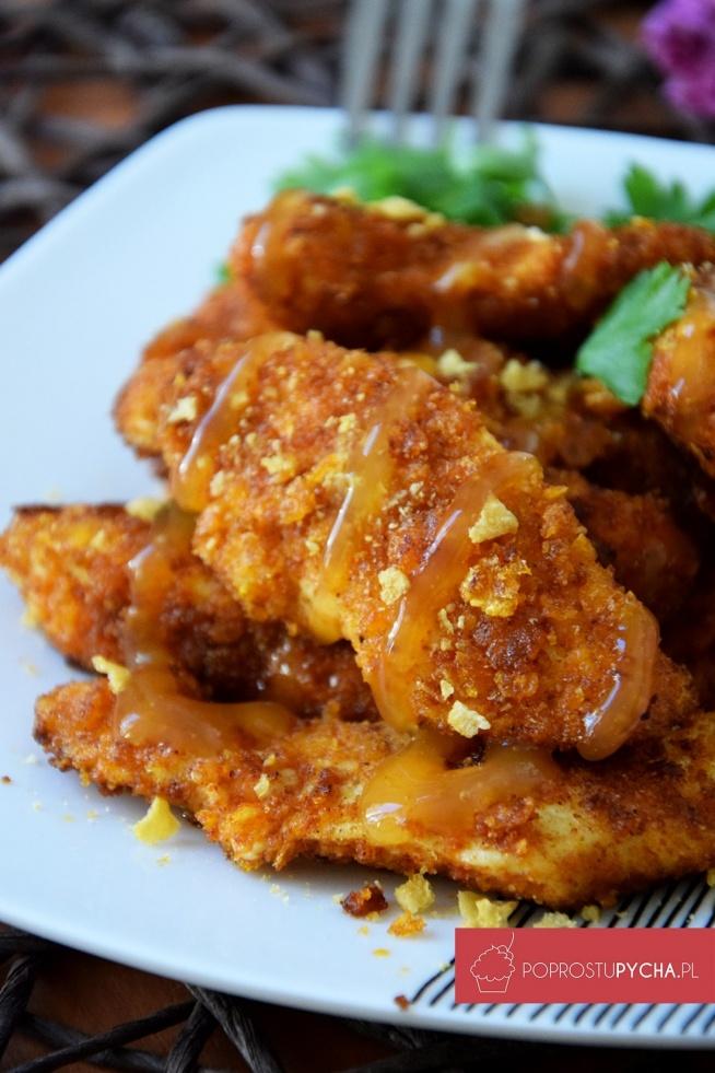 Mega chrupiący kurczak w sosie słodko-kwaśnym