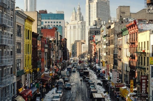 New York, Chinatown, USA