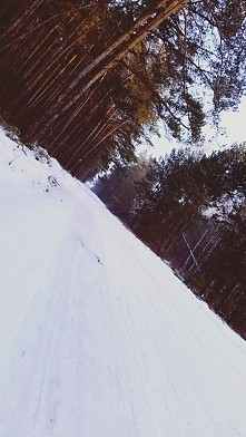 A u mnie nadal śnieg :) #zdj1