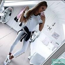 na biało, i sportowo :)
