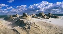 Łeba (woj. pomorskie) – piaszczyste wydmy w Słowińskim Parku Narodowym