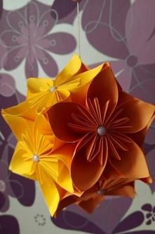 Kula z kwiatów kusudama #2