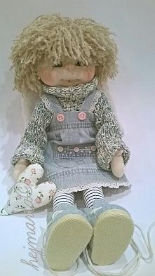 Aniołek - szmaciana lalka