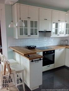 kuchnia Bodbyn z IKEA
