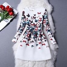 sukienka motylki ;)