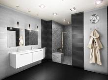 Nowoczesna przestronna łazienka