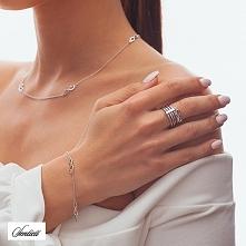 Srebrny pierścionek z zawie...