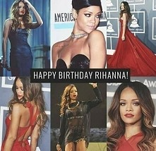 happy birthday Rihanna