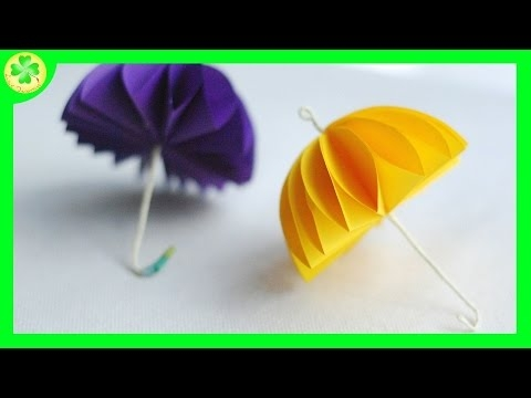 Filmik, z którego dowiecie się, jak stworzyć parasol z papierowych kół :)