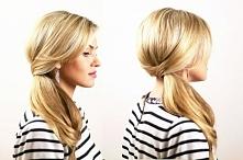 fryzura długa z upięciem