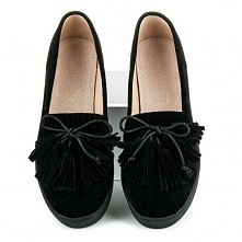 Calista buty typu flats ze kokardką