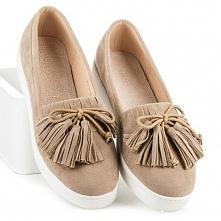 Beżowe buty damskie Calliope