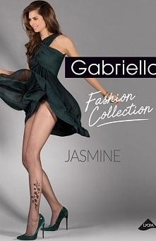 Gabriella Jasmine code 385 rajstopy Ekskluzywne rajstopy, wykonane z włókna L...