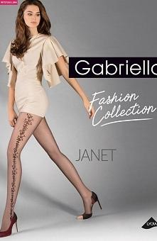 Gabriella Janet code 383 rajstopy Piękne rajstopy, wykonane z włókna Lycra po...