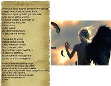 Mój kolejny wiersz
