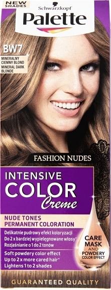 Palette, mineralny ciemny blond. ciekawy kolor chyba