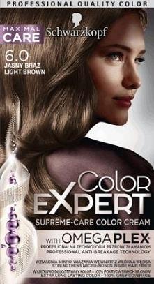 Schwarzkopf Color Expert. jasny brąz niby ale fajny