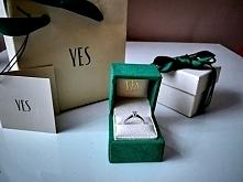 Mój piękny zaręczynowy. Dostałam go w 5 rocznicę 2.08.2016r. Wesele/Ślub równ...