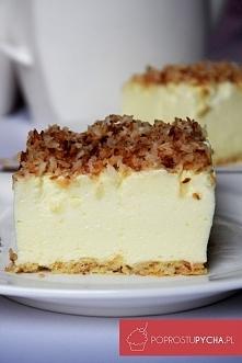 Obłędne ciasto śnieżny puch ;)