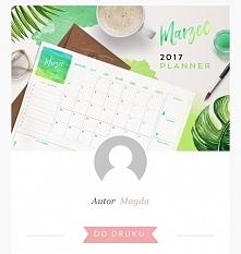 Hej dziewczyny chciałam sie podzielić z wami niezłym blogiem z plannerami, kalendarzami do druku za darmo :D Zawsze miłej się prowadzi zapiski, postępy diety kiedy ma się ładny ...