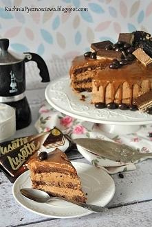 tort kawowy z czekoladą