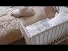 Łóżeczko dostawne - dostawka do łóżka rodziców mamaipapa