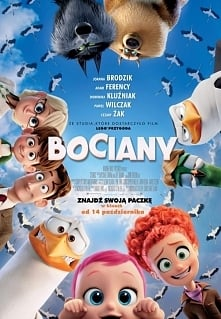 Bociany (2016) familijny, bajka Cudowna bajka opowiadająca o bocianach przynoszących...telefony komórkowe i laptopy. Bardzo polecam!!!!! ocena 9/10