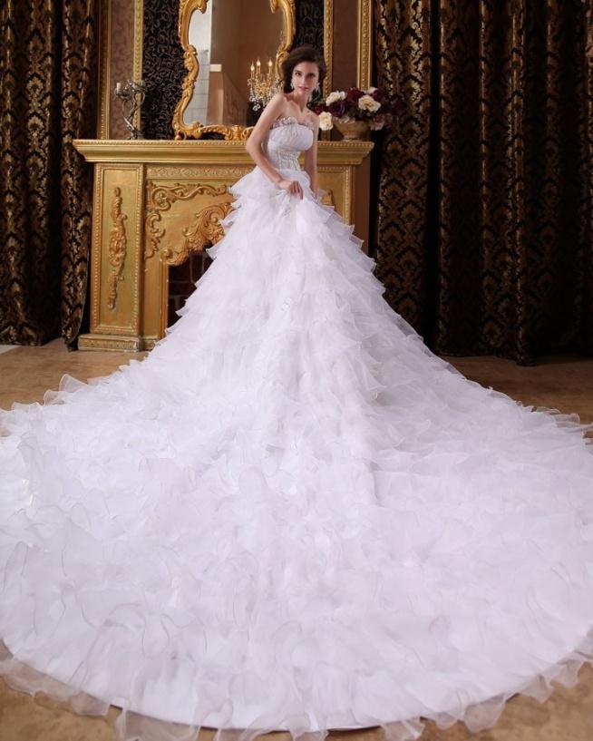 Modne Długie Imperium S Katedra Wzburzyc Suknia Balowa Suknie Ślubne Suknia Ślubna