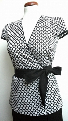 Kopertowa bluzka + spódnica...