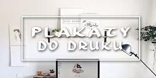 plakaty w stylu skandynawskim do druku