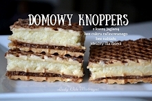 Domowy knoppers - fit słodycze :) Zdrowy deser dla dzieci <3