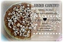 Domowe kinder country, wersja fit z kaszą jaglaną