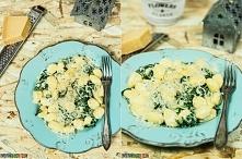 Przepis na gnocchi ze szpinakiem - danie do przygotowania w 10 minut.