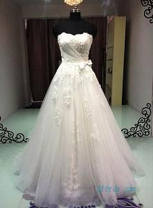 bez ramiączek suknia ślubna