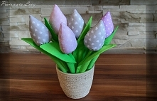 tulipany od Pracowni Lucy - wys. 29 cm - Zapraszam :)