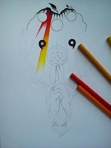 Projekt tatuażu na zamówienie - w trakcie przygotowywania ;)