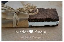 Domowe kinder pingui - idealna propozycja dla najmłodszych :)