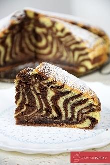 Ciasto ZEBRA! :) Rewelacyjne w smaku :)