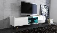 Skandynawski styl stolik RTV  Link do mebli po kliknięciu w zdjęcie