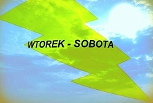 Związek Wtorku z Sobotą ;)  Burzliwie, ale ciekawie... Wtorek szybko podejmuj...