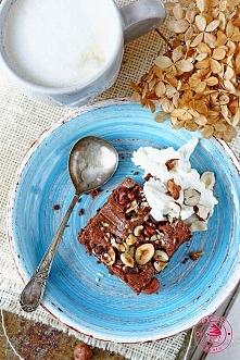Brownie z nutellą - Wypieki Beaty