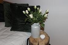 Nowy wazon ze starej kanki na mleko - metamorfoza już na blogu :)