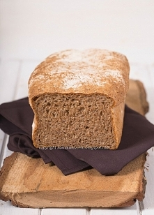 Chleb razowy z bulgurem, pr...