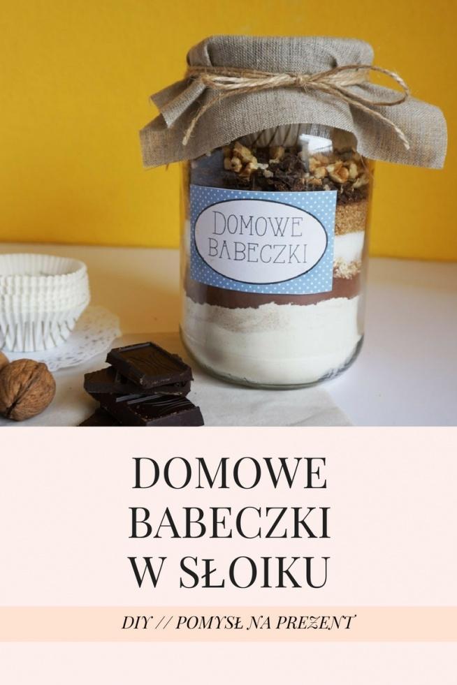 DIY Domowe babeczki w słoiku :) Pomysł na prezent, upominek dla smakoszy + etykiety do druku :)