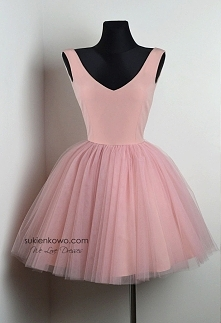 Śliczna tiulowa różowa księżniczka <3