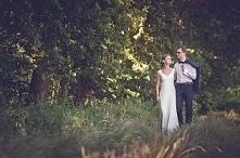 Sesja plenerowa w dniu ślub...